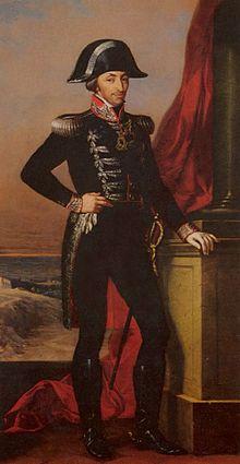 Portrait de Victor-Emmanuel Ier de Sardaigne