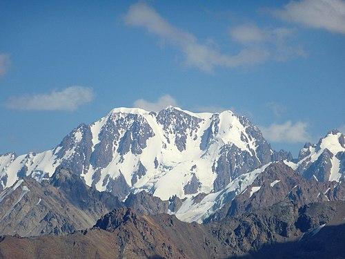 Талгар пик Википедия
