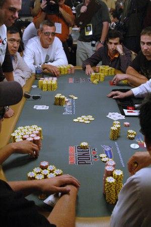 2006 WSOP Main Event Table