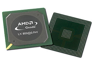 AMD Geode™ LX 800@0.9W Processor