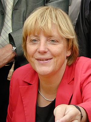 Deutsch: Angela Merkel in Hamm, Deutschland