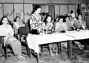 Nederlands: Repronegatief. In juni 1950 organi...