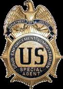 Badge de la DEA