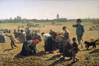 The Gleaners by Jules Adolphe Aimé Louis Breton