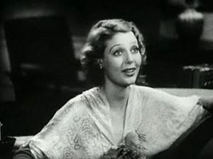 Screenshot of Loretta Young from the trailer f...