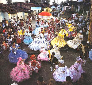 The Maracatu, a cultural aspect resulted from ...