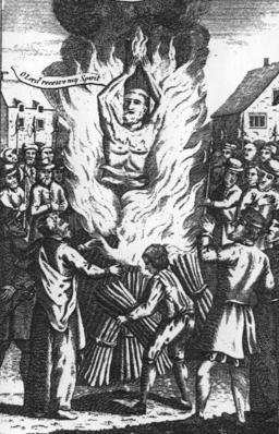 Martyrdom of Thomas Haukes
