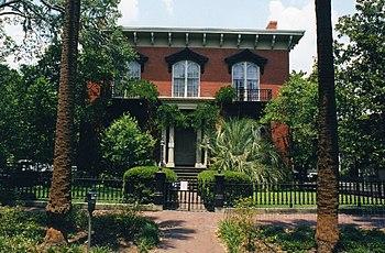 Mercer House, Savannah, Georgia.