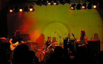Motorpsycho playing live at Studenten, Steinkj...