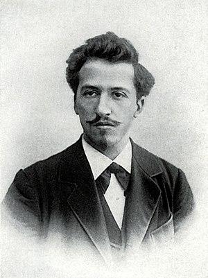 Nederlands: Anoniem. Piet Mondriaan. 1899. Den...