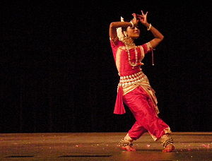 Performance by Odissi dance troupe Rudrakshya ...
