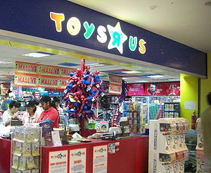 Toys-R-Us store at United Square shopping mall...