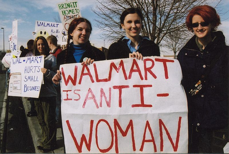 Wal-Mart protest in Utah