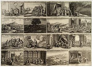 Wenceslas Hollar - The Jacob and Joseph Storie...