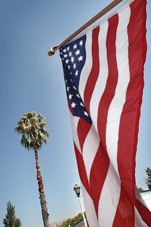 American Flag on 9-11+5 years