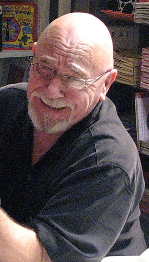 A crop of Image:Brian Jacques.jpg, Brian Jacques