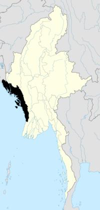 Wilayah Rakhine (Arakan), Myanmar
