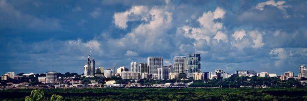 City landscape of Darwin, Northern Territory