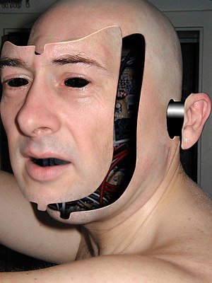 Artistic representation of a fictional android...