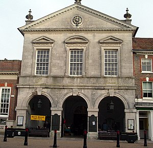 "The ""Corn Exchange"" (town hall)"