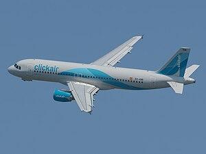 Airbus A320-216 Clickair cn 3400 Entregado en ...
