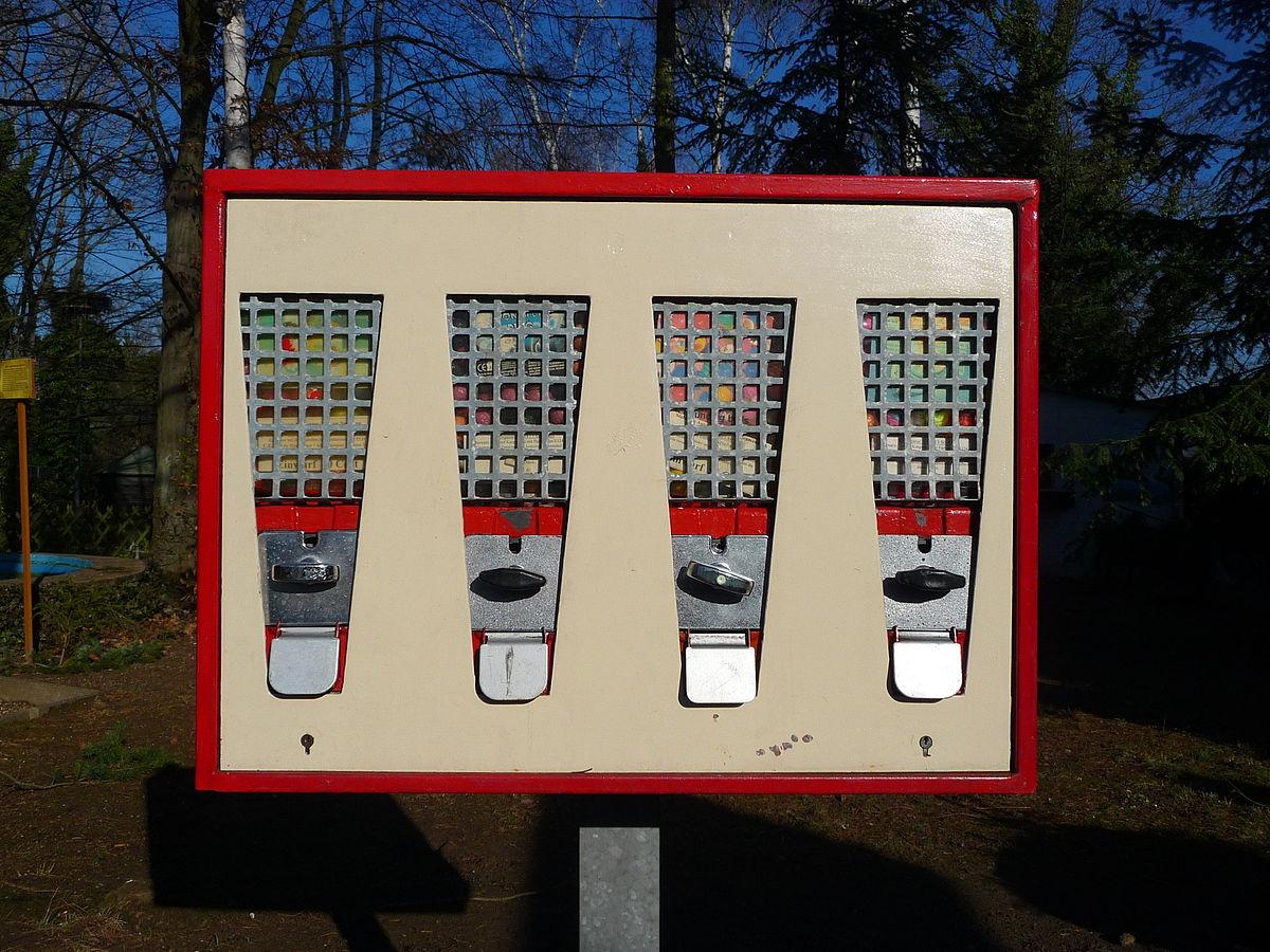 Kaugummiautomat Wikipedia