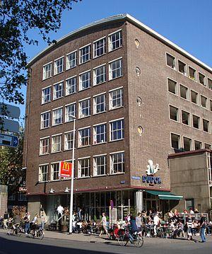 Rotterdam, Meent 88. Dudok. Gemeentemonument.