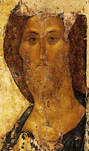 Christ the Redeemer by Andrei Rublev (ca. 1410...