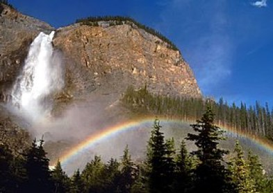 Rainbows may also form in mist, such as that o...