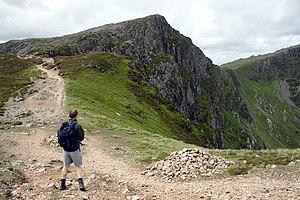 English: The Path To Cader Idris Craig Cau is ...
