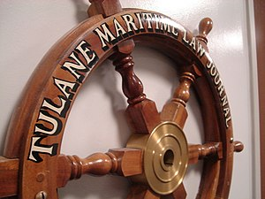 Entrance to Tulane Maritime Law Journal offices.