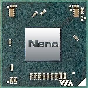 VIA Nano Chip Image (top)