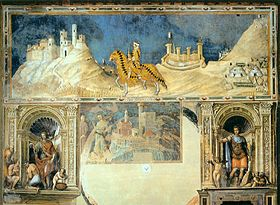 Image illustrative de l'article Guidoriccio da Fogliano all'assedio di Montemassi