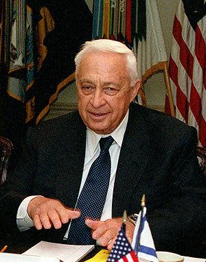 Ariel Sharon 2001-03-19