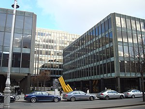 English: Bank of Ireland HQ Baggot Street