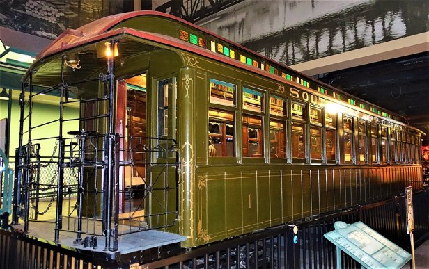 Chicago L System South Side Railroad Car 1 - Chicago History Museum