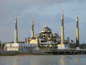 English: Cristal Mosque in Kuala Terengganu