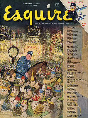 Cover of the January 1948 (vol. 29 issue 1) is...