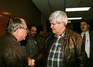 East Grand Forks, MN, 04/25/1997-- Rep. Newt G...
