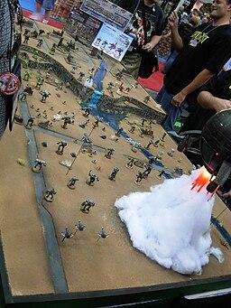 Gen Con Indy 2007 - miniature wargame terrain board - (BattleTech) 01