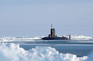 HMS Tireless, North Pole 2004