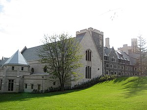Picture of Princeton University's Whitman College.