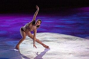 Sasha Cohen at Skating Club of Boston's Ice Ch...