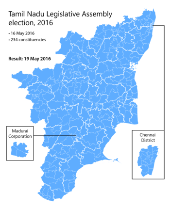 Tamil Nadu Legislative Assembly election, 2016 - Wikipedia ...