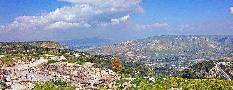 File:Umm Qais Galilee-Golan panorama.jpg