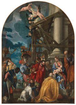 File:Vicenza, santa corona, paolo veronese, adorazione dei magi.JPG