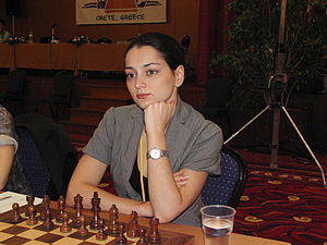 English: GM Alexandra Kosteniuk