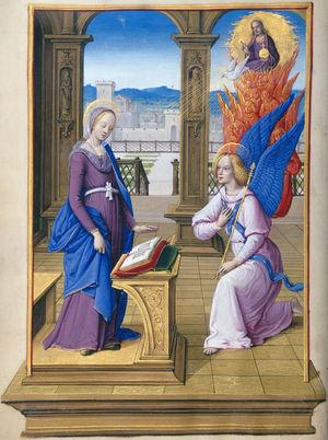 English: The Annunciation