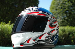Arai Vector motorcycle helmet - dirt bike safety gear