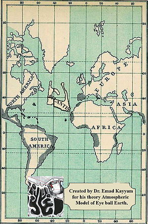 Atlantis imagined being in the Atlantic Ocean ...